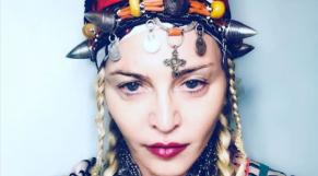 Madonna en tenue amazighe