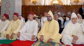 Roi Mohammed VI prière de l'Aid Al Adha