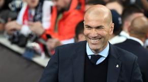 Zinédine Zidane sourire