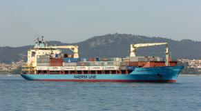 Tunisie: Maersk contraint à la fermeture et un de ses navires saisi
