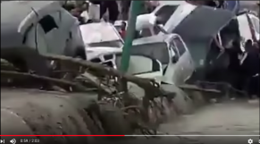 Vidéo. Algérie: de fortes intempéries emportent des voitures et font deux morts