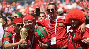 Supporters Maroc en Russie