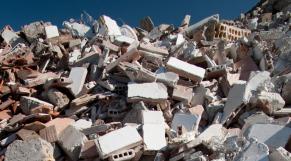Déchets de matériaux de construction