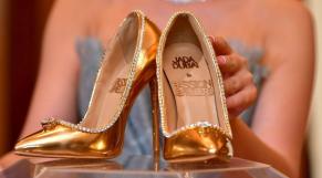 Chaussures en diamond