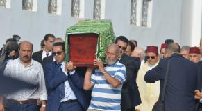 cover vidéo: Le360.ma •بالفيديو. جنازة مهيبة للوزير الأول السابق كريم العمراني بمقبرة الشهداء