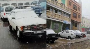 Chutes de neige-Bab Berred-Cover