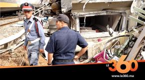 cover Video - Le360.ma •تعرفوا على حادثة انقلاب قطار بسيدي بوقنادل