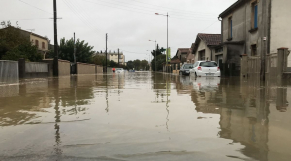 inondations dans l'Aude