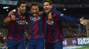 Messi-Neymar-Suarez