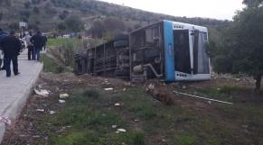 Fès-reversement de bus4