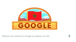 Google indépendance du Maroc
