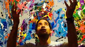 Le peintre new-yorkais JonOne