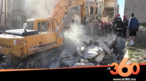 Cover Vidéo - البيضاء. انهيار منزل مكون من 4 طوابق بالمدينة القديمة