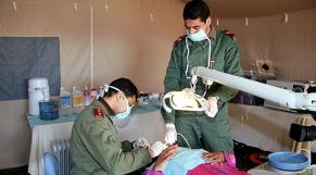 Médecins des Forces armées royales (FAR)