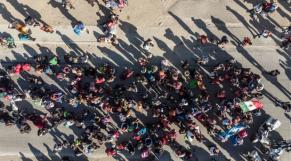 Tijuana migrants