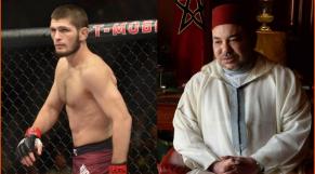 Khabib et Mohammed VI