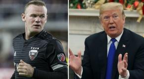 Wayne Rooney Donald Trump