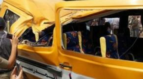 Accident bus scolaire Casablanca