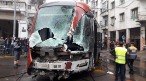 Accident Tram Casablanca2