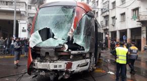 Accident Tram Casablanca2