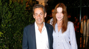 Le couple Bruni Sarkozy