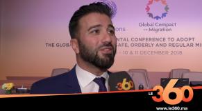 Cover Vidéo - Pacte de Marrakech: interview avec le Porte-parole de l'ONU, Charbel Raji