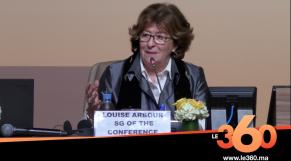 Cover Vidéo - Pacte de Marrakech: les moments forts de la conférence de presse de la représentante spéciale de l'ONU