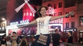 Amina Mailainine Moulin Rouge