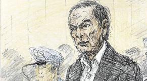 Carlos Ghosn dessin de presse