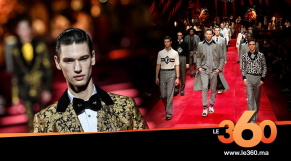 Cover Dolce & Gabbana Fashion Week hommes de Milan