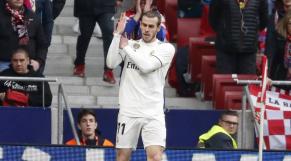 Gareth Bale bras d'honneur
