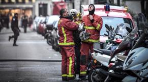 Incendie à Paris