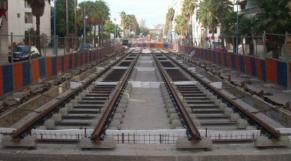 Chantier tramway Casablanca
