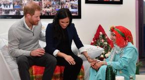 Prince Harry et Meghan Markle- région Marrakech1