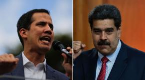 Juan Guaido et Nicolas Maduro