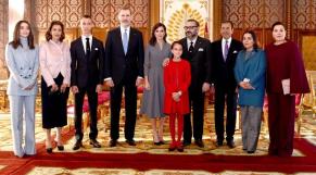 Mohammed VI et princes Moulay El Hassan et Lalla Khadija5