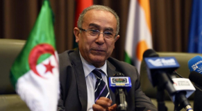Le nouveau vice-Premier ministre algérien en charge des Affaires étrangères, Ramtane Lamamra.