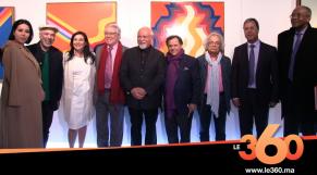 Cover Vidéo - 60 ans de carrière de Mohammed Melehi à l'espace expressions de la CDG