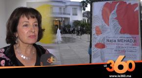 Cover_Vidéo: Le360.ma •Rétrospective de Najia Mehadji à Casablanca: Comme si vous y étiez