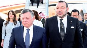 Le roi Abdallah de Jordanie