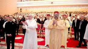 Le roi Mohammed VI et le Pape François-3
