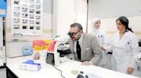 Le roi inaugure le Centre de radiologie et d'analyses médicales de la Sûreté nationale à Rabat