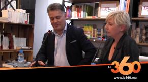 Cover_Vidéo:  Le360.ma •Dernières nouveautés de Laroui, l'auteur en parle