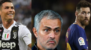 CR7, Mourinho et Messi