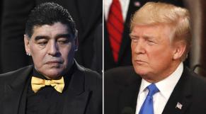 Maradona vs Trump