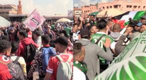 Place Jemaa El Fna avant derby Avril 2019