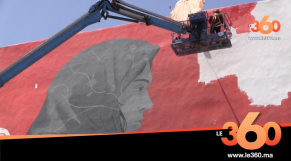 Cover Vidéo - Le festival Jidar, toiles de rue, investit les murs rbati pour sa 5ème édition