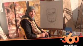 Les Marocains d'Afrique: Hakima Dria, reine des pinceaux à Nouakchott