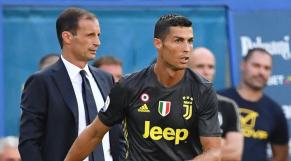 Allegri et Ronaldo