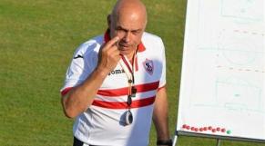 Christian Gross, entraîneur du Zamalek